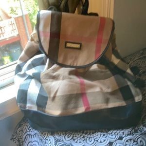 Vintages Burberry backpack